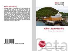 Couverture de Albert Jean Gaudry