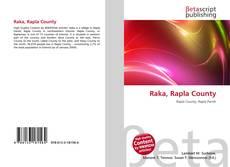 Buchcover von Raka, Rapla County