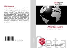 Обложка Albert Jorquera