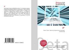 Capa do livro de P′′