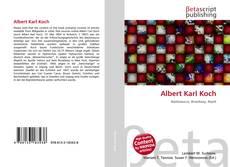Albert Karl Koch的封面