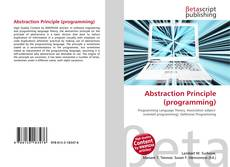 Bookcover of Abstraction Principle (programming)
