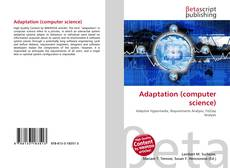 Bookcover of Adaptation (computer science)