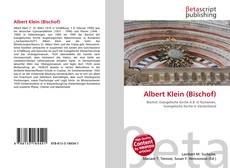 Buchcover von Albert Klein (Bischof)