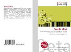 Capa do livro de Camilo Mori