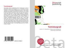Capa do livro de Tomislavgrad