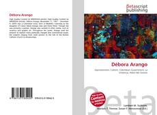 Capa do livro de Débora Arango