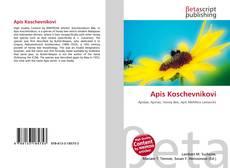 Borítókép a  Apis Koschevnikovi - hoz
