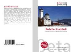 Portada del libro de Bachchor Kronstadt