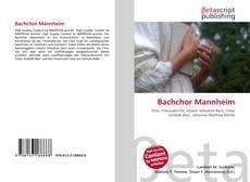Обложка Bachchor Mannheim