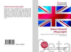 Обложка Robert Howard (Playwright)