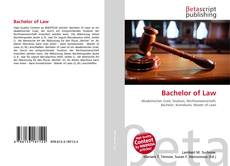 Bookcover of Bachelor of Law