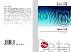 Bookcover of Yvan Goll