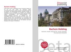 Copertina di Bachem Holding