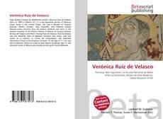 Portada del libro de Verónica Ruiz de Velasco