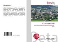 Bachenbülach kitap kapağı