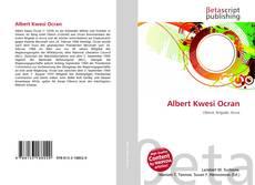 Capa do livro de Albert Kwesi Ocran