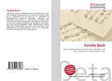 Copertina di Familie Bach