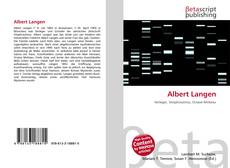 Bookcover of Albert Langen