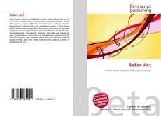 Capa do livro de Raker Act