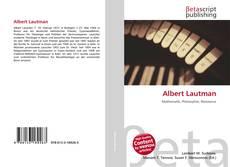 Buchcover von Albert Lautman