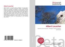 Buchcover von Albert Lauscher