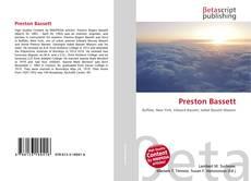 Portada del libro de Preston Bassett