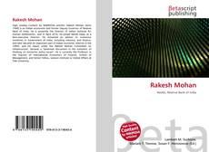 Bookcover of Rakesh Mohan