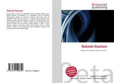 Portada del libro de Rakesh Roshan