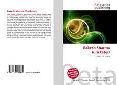 Copertina di Rakesh Sharma (Cricketer)
