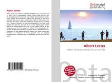 Bookcover of Albert Lester