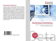 Bookcover of Ousterhout's Dichotomy