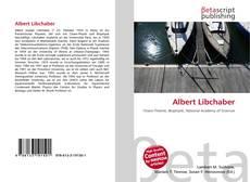 Buchcover von Albert Libchaber