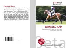Preston M. Burch kitap kapağı