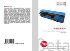 Обложка Preston Bus
