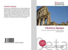 Bookcover of Vibulenus Agrippa