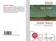 Portada del libro de Sokolnik - Bulgaria