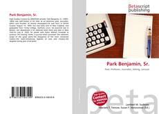 Bookcover of Park Benjamin, Sr.