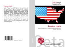 Bookcover of Preston Leslie
