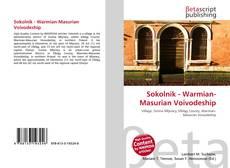 Bookcover of Sokolnik - Warmian-Masurian Voivodeship