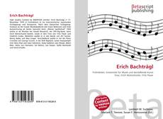 Bookcover of Erich Bachträgl