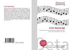 Buchcover von Erich Bachträgl