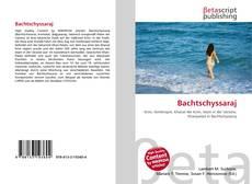 Buchcover von Bachtschyssaraj