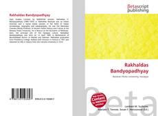 Rakhaldas Bandyopadhyay的封面