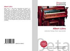 Portada del libro de Albert Lührs