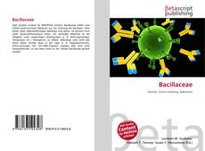 Bacillaceae kitap kapağı