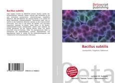 Bookcover of Bacillus subtilis