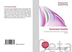 Bookcover of Tommaso Fazello