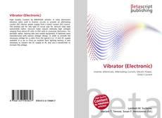 Обложка Vibrator (Electronic)