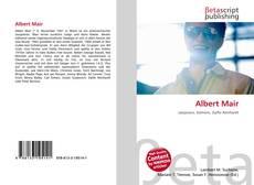 Bookcover of Albert Mair
